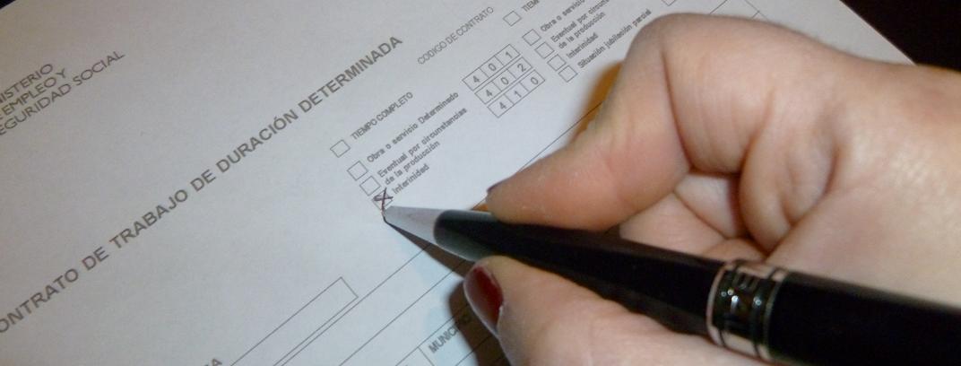 El Contrato De Trabajo De Interinidad Blog De Derecho