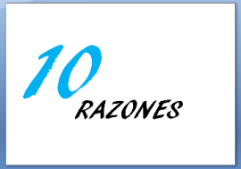 10 RAZONES